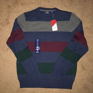 [Mens] IZOD striped sweater
